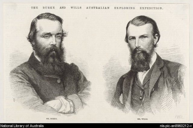 Burke and Wills begin Expedition to cross Australia from Melbourne to the Gulf of Carpentaria.