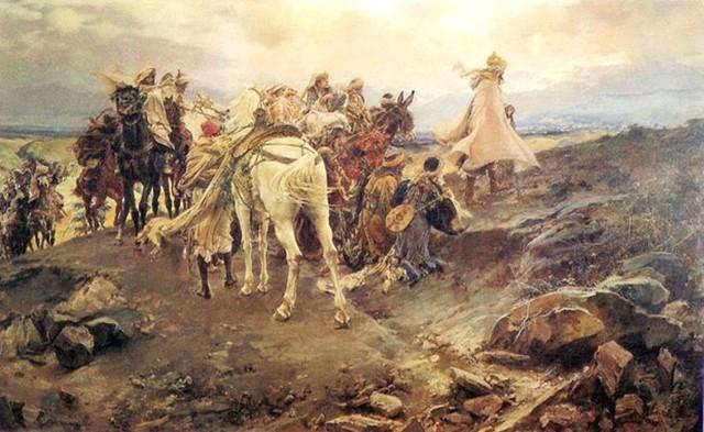 The Moors Begin Occupying Spain