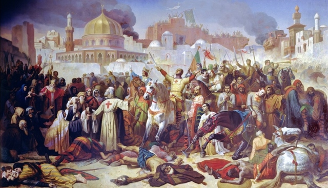 *The Crusades: Jerusalem Encounters Bloodshed & Sacked
