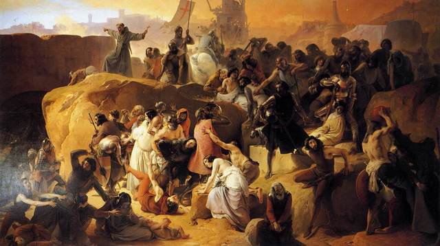 *The First Crusade on Muslims and Jerusalem