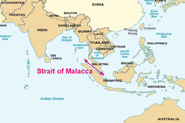 Founds Malacca