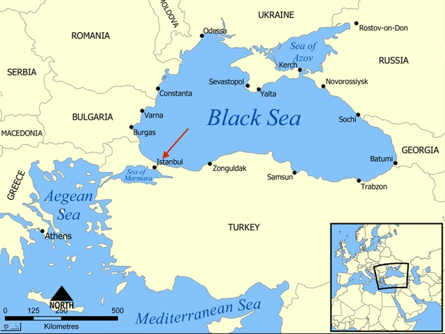 *The Black Sea is Closed Off