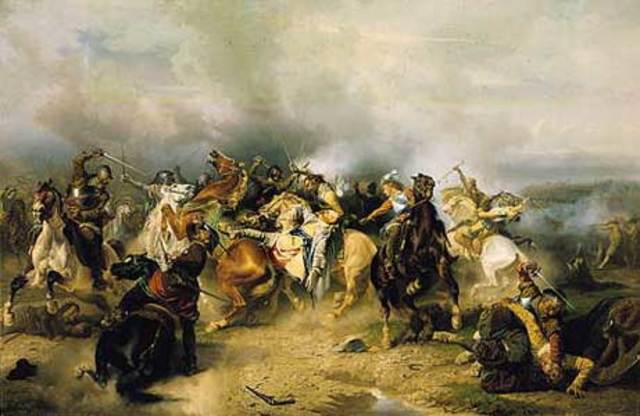 Akbar Defeats Mughal Rebels in the Second Battle of Panipat