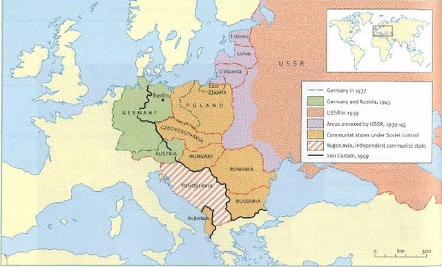 Soviet Troops takeover European Countries
