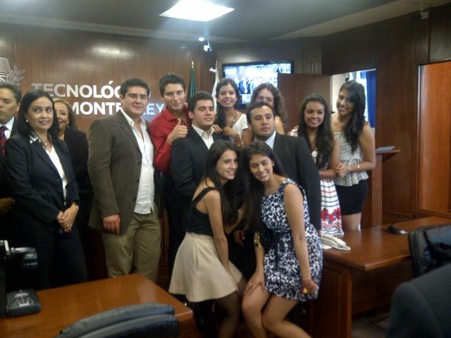 Inicio de carrera en el Tec de Monterrey