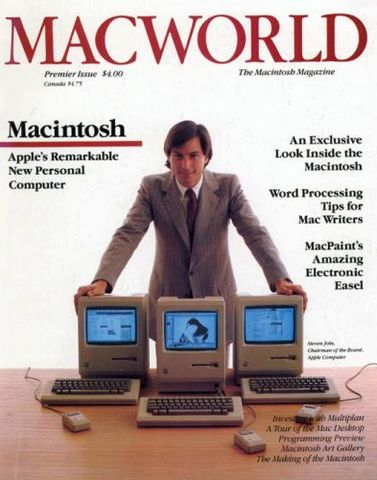 Steve Jobs e o Macintosh 128k