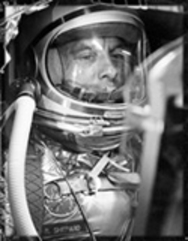 1st American Man in Space