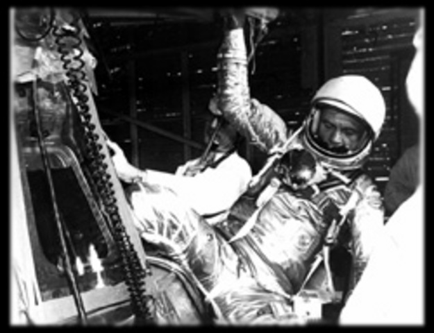 1st American to Orbit the Earth