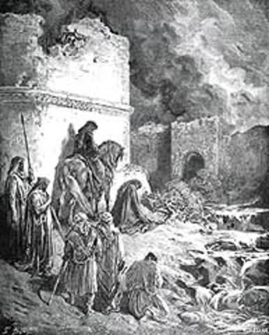 תחילת גלות בבל