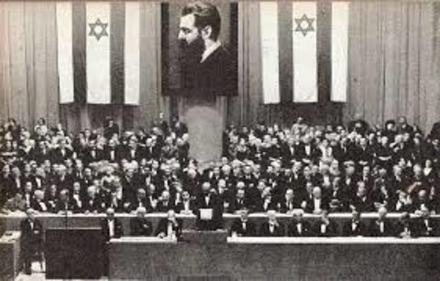 המפגש הראשון של הקונגרס הציוני הראשון