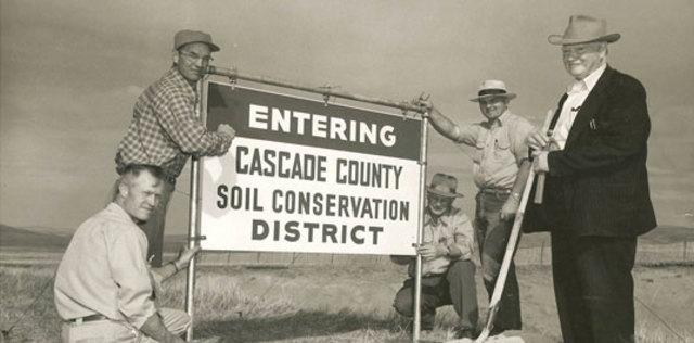 Dust Bowl- Soil Conservation Service