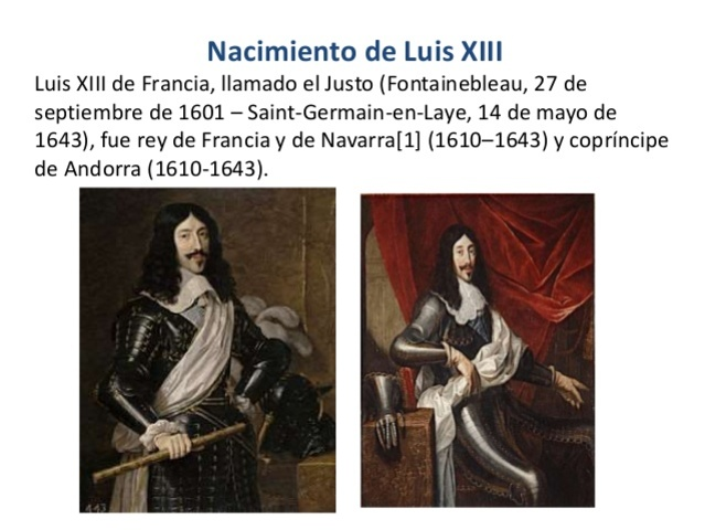 EL REY LUIS XIII