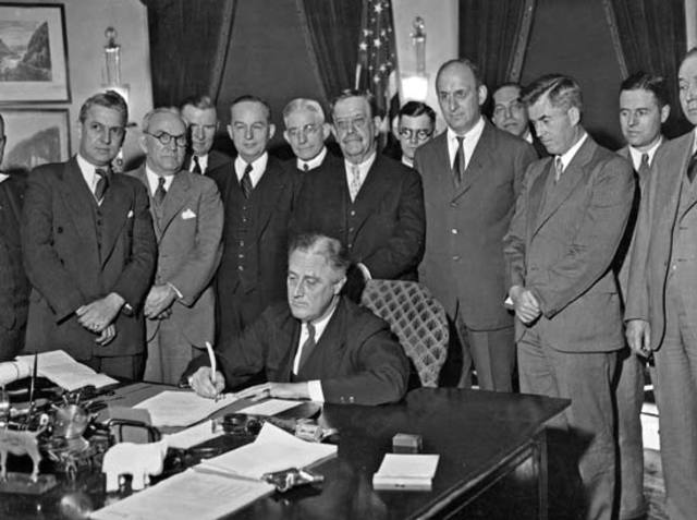 New Deal Programs: Agricultural Adjustment Administration