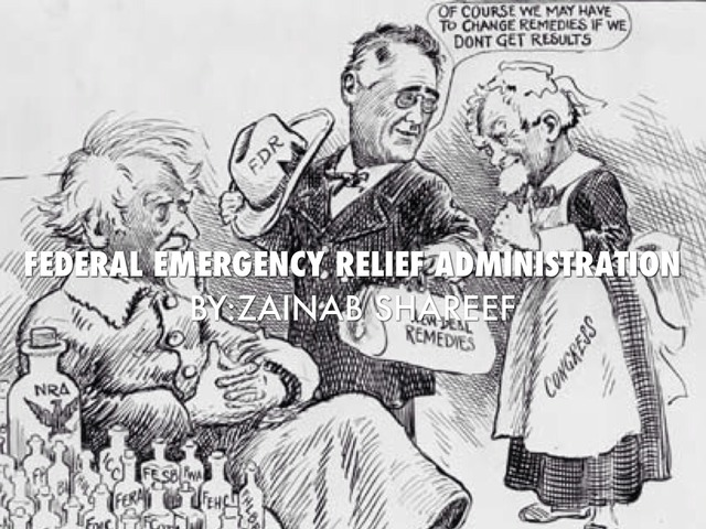 New Deal Programs: Federal Emergency Relief Administration