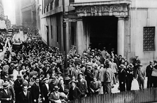 Stock Market Crash- Black Thursday