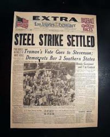 Steel Strike Ends