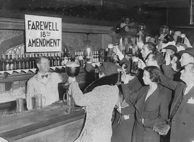 Prohibition- 21st Amendment