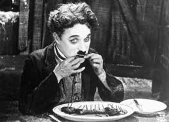 Charlie Chaplin in Gold Rush
