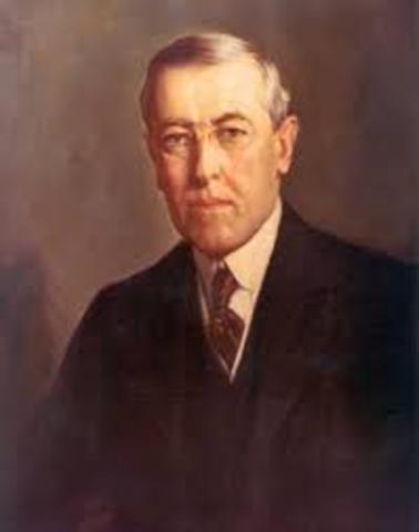 Woodrow Wilson Suffers a Stroke