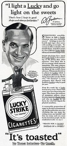 20s Economy- Celebrity Endorced Ads