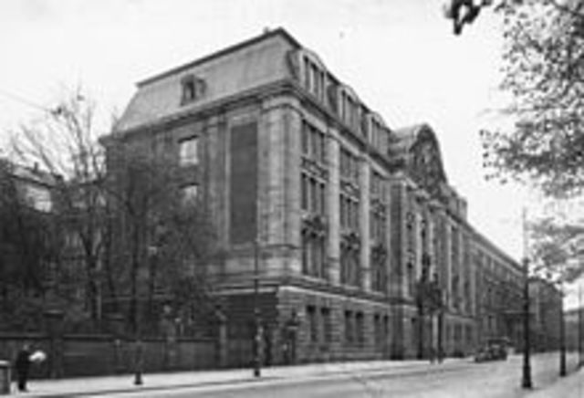 """The Wannsee conference """"The Final Solution"""""""