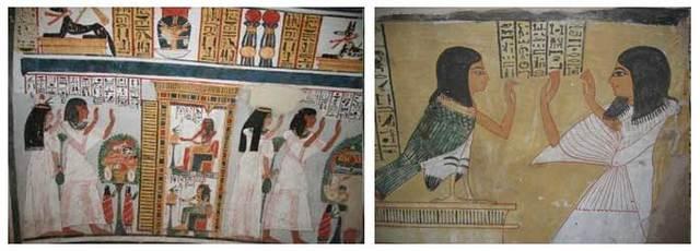 2500 лет до н. э. Окрашивание волос Древними египтянами