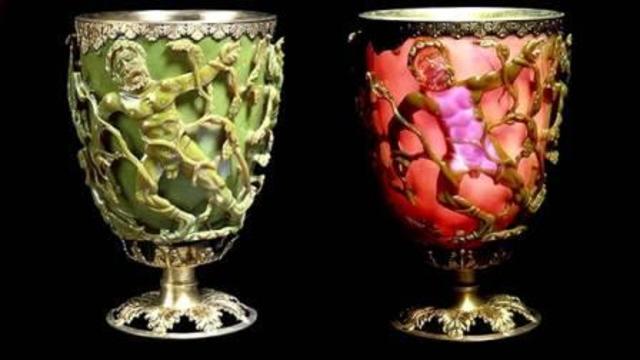 4 век  н.э. Кубок Ликурга