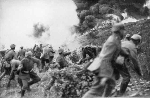 Ofensiva russa Batalla de Lemberg