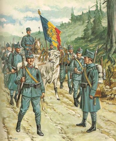 Romania amb l'Entesa