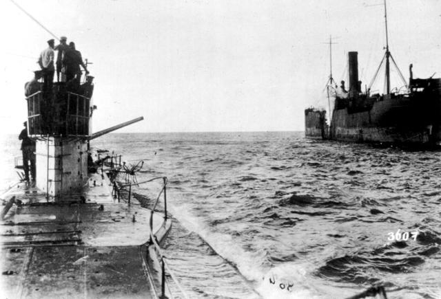 Alemanya reprèn guerra submarina