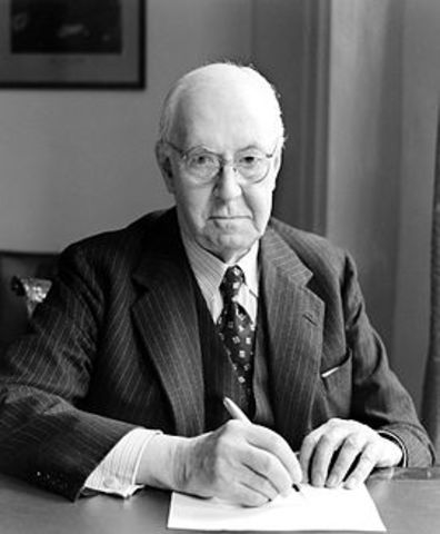 Henry Dale identifies acetylcholine
