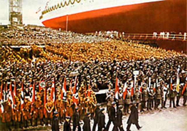 Hitler militarises Germany