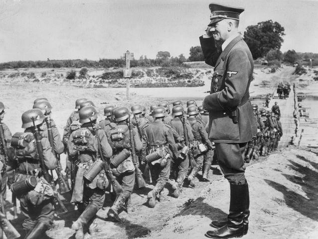 Nazis invade Poland