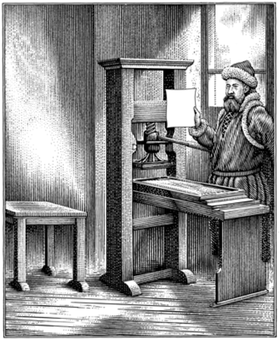 Project Gutenberg is founded