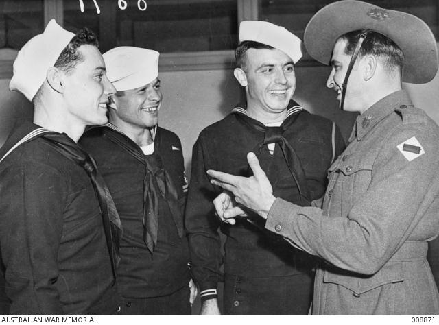 First U.S troops arrive in Australia