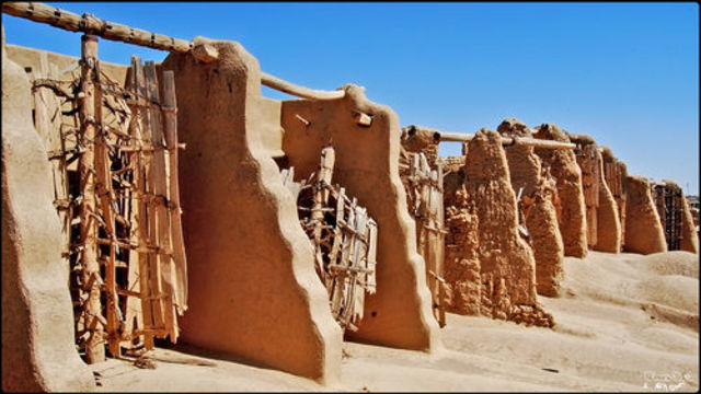 Ancient Perisan Windtowers