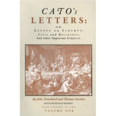 First Publishing of Cato's Letters