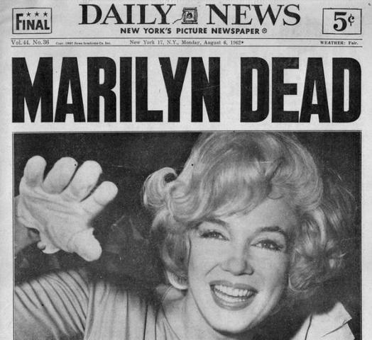 Muerte Marilyn Monroe