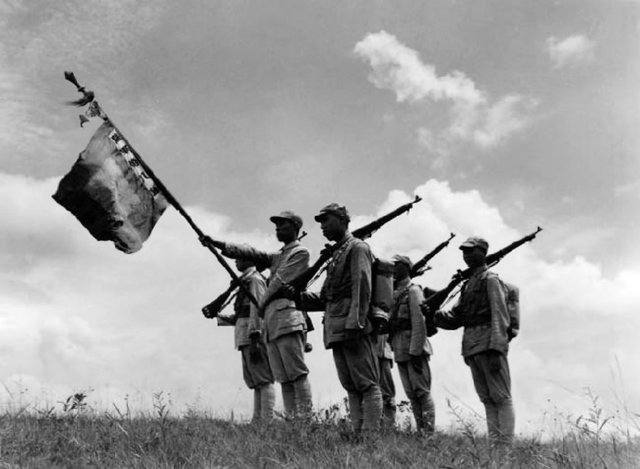 The Second Sino-Japanese War ends