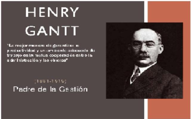 APORTES DE HENRY LAWRENCE GANTT