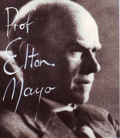 GEORGE ELTON MAYO (BiografÍa)