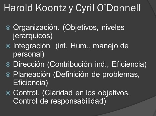 """HAROLD KOONTZ Y CYRIL O""""DONNELL"""