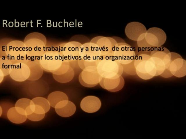ROBERT F. BUCHELE