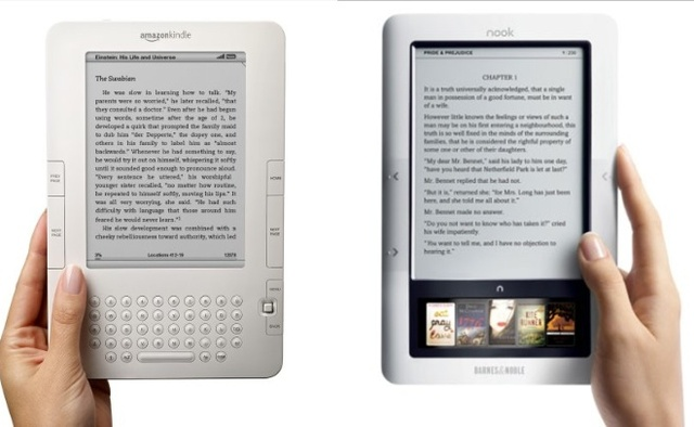 BN / Amazon drastically cut prices on nook and Kindle