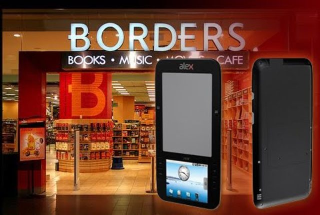 Borders launches its own Kobo-powered e-book store