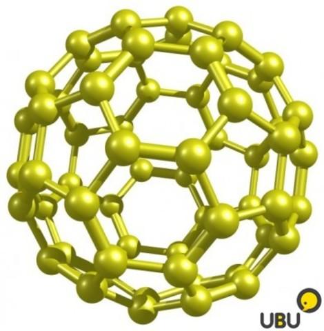 Молекула из 60 атомов углерода