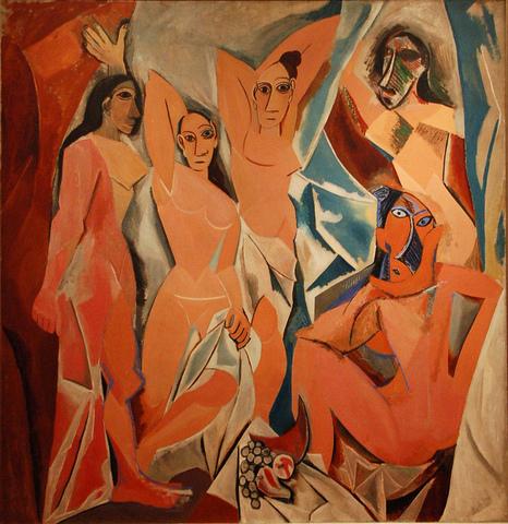 HISTOIRE DES ARTS:Les Demoiselles d'Avignon