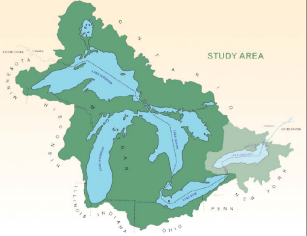 Americans Control the upper Great Lakes