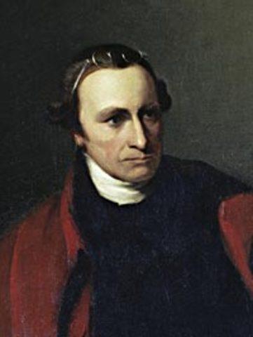 Patrick Henry tries to persuade Virginia