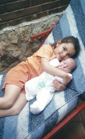 Nacimiento de mi hermana Ángela